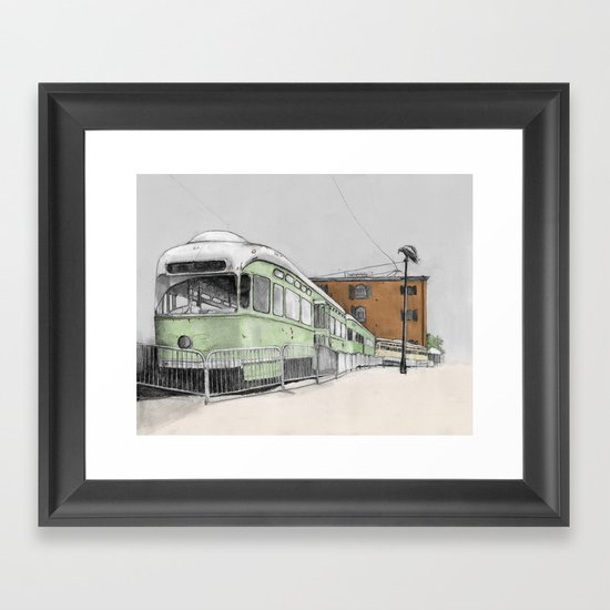 Red Hook Framed Art Print