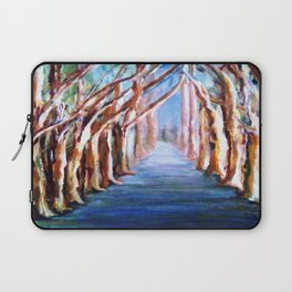 Blue Gum Trees along the Path Laptop Sleeve