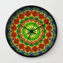 Mandala Mehndi Style G493 Wall Clock