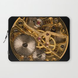 Time is passing by - antique watch Laptop Sleeve