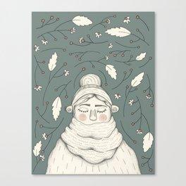 Cozy Moments Canvas Print
