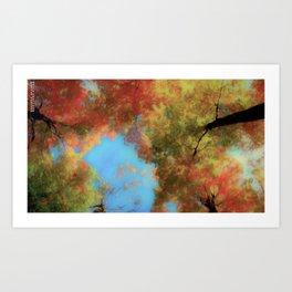 A Perfect Fall Art Print