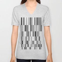 Stripe Rhythm Unisex V-Neck