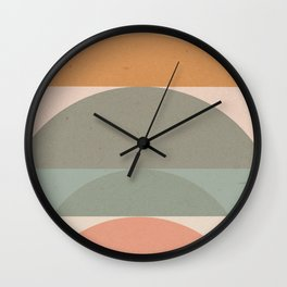 Geometric 01 Wall Clock