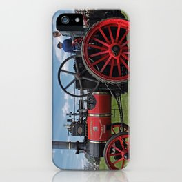 Chieftain traction engine iPhone Case