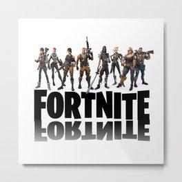 Fortnite all heroes Metal Print