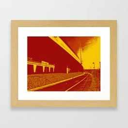 Bridge 14 Framed Art Print
