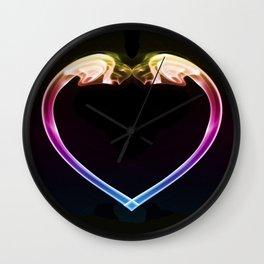 Love Smoke Wall Clock