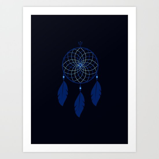 The Blue Dreamcatcher by sheldonstewart