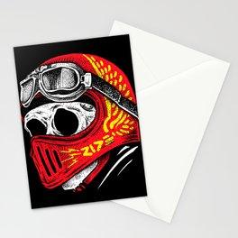 Ride Skull Stationery Cards