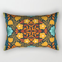flower garden 001 Rectangular Pillow