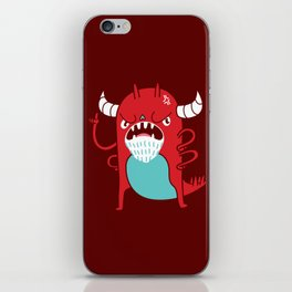 Monster Nagging iPhone Skin