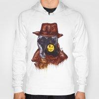 rorschach Hoodies featuring Rorschach by AgrovatedArt