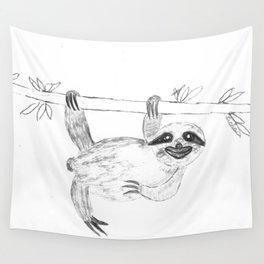 Maya's Sloth Wall Tapestry