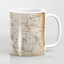 Fantasy Land: Map Coffee Mug