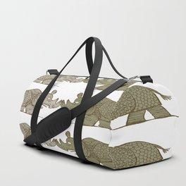two Blind Rhinos Duffle Bag