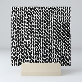 Hand Knit Zoom Mini Art Print