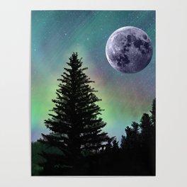 Northern Aurora Poster