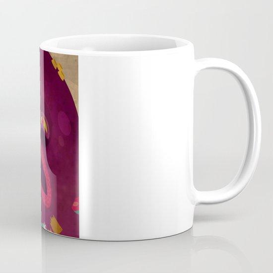 giant octopus Mug