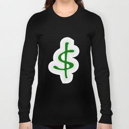 Shrinking Dollar Long Sleeve T-shirt