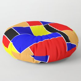 Mondrian #48 Floor Pillow