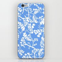 cherry blossom iPhone & iPod Skins featuring Cherry Blossom by Elena O'Neill