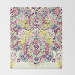 Opal with phantoms  Throw Blanket