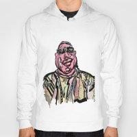 notorious big Hoodies featuring Notorious BIG by Jara Montez