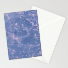 Lavender Pink Ripple Stationery Cards