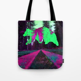 Bear in the sky Tote Bag
