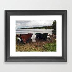 Loch Knockie Framed Art Print