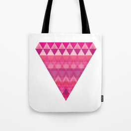 Geometric Diamond Tote Bag