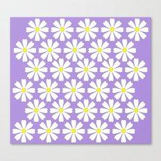 Lilac daisies Canvas Print