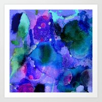 milky way Art Prints featuring Milky way way way by Perk & Powe Designs