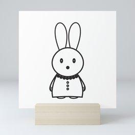 Scarli Rabbit Mini Art Print