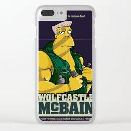 McBain Clear iPhone Case
