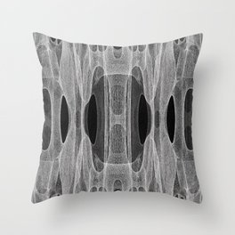 MESH COMPONENTS SECTION 01 Throw Pillow