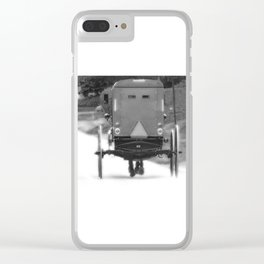 Horse Buggy Photography ART Clear iPhone Case