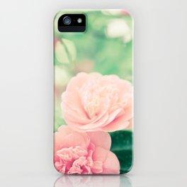 Joie de vivre - floral photography iPhone Case