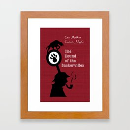 The Hound of the Baskervilles - Sherlock Holmes Framed Art Print
