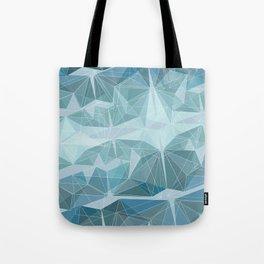 Winter geometric style - minimalist Tote Bag