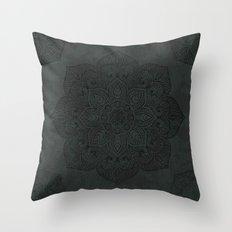 Vintage Mandala Throw Pillow