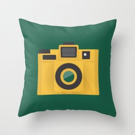 Camera Series: Holga Throw Pillow