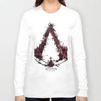 saga Long Sleeve T-shirts featuring Assassin's Creed Saga by s2lart