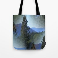 once upon a  time Tote Bags featuring Once upon a time... by Cherie DeBevoise