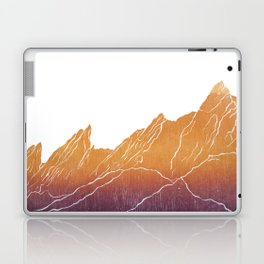 Colorado Mountain Ranges_Boulder Flat Irons Laptop & iPad Skin
