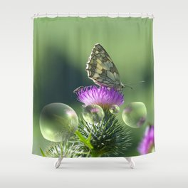 Feast for the eyes Shower Curtain