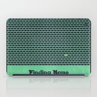 nemo iPad Cases featuring Finding Nemo by Matt Bacon