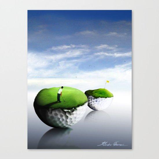 The 7th Hole Canvas Print
