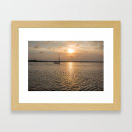 Vela Framed Art Print